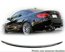 BMW E92 M3 COUPE HECKSPOILER SPOILER * Lackiert Schwarz Uni 668 * Type M