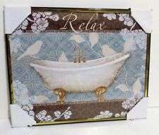 RELAX  Inspirational Wall Picture, Wall Plaque