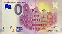 BILLET 0  EURO  SCHARDING SILBERZEILE  AUTRICHE   2018  NUMERO 100