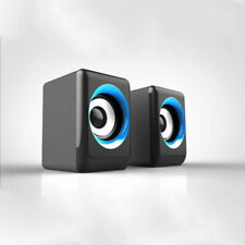 Portable Speaker USB Multimedia Powered Wired Mini Surround Subwoofer Output