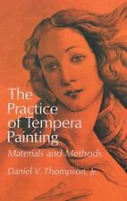 The Practice of Tempera Painting - Materials and Methods -ART book FREE SHIPPING