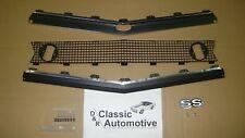 Camaro 67 Standard Grill 70pc Kit w/Moldings + SS Emblem + Hardware **In Stock**
