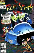 REN & STIMPY 2 1st PRINT NICKLODEON CARTOON 1992 MARVEL
