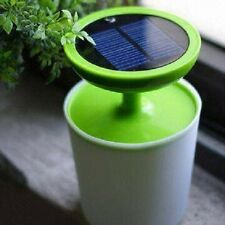 Indoor Solar Lamp potted LED desk table Eyes protection Decoration Night Light