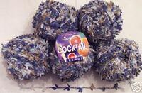 Plymouth Adriafil Cocktail Yarn - Blue/Brown