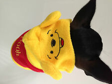 Pet dog clothes,costume,cute Winnie the Poo Hoodie,New Apparel, size 12 Small