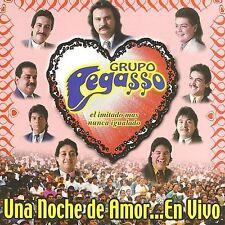 Una Noche de Amor... en Vivo by Grupo Pegasso (CD, Sep-2002, WEA (Distributor))