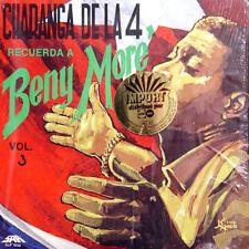 CHARANGA DE LA 4 Recuerda A Beny Moré Vol 3 US Press LP
