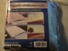 Bâche protège pare brise anti givre antigivre magnétique hiver