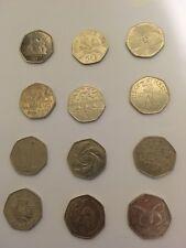 Commemorative 50p coins cheap fifty pence rare Victoria Cross Library coin