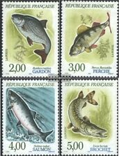 Frankreich 2799-2802 (kompl.Ausg.) postfrisch 1990 Fische