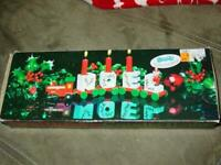 Vintage Noel Holiday Candle Train : 3 Cars & Candles (New) from Shopko
