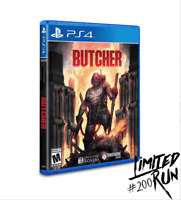 Butcher PS4  Playstation 4 Limited Run Games #200 LRG 2000 WW Brand New Sealed