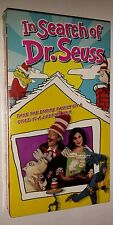 NEW sealed In Search of Dr. Seuss VHS 1994 K Najimy R Williams C Lloyd P Stewart