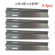 BBQ Grillware Gas Grill Heat Plate Stainless Steel  Heat Shield JPX2411 - 4 SS