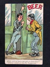 Vintage Postcard: Comic Seaside Humour #B154: WL TBM : Beer