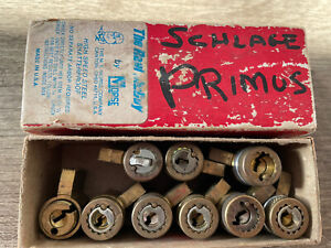 Schlage Primus Key-in-knob/ Lever Cylinders Lot of 9