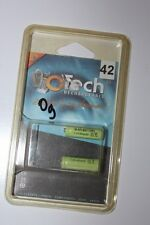 """OTECH - 2 piles rechargeables  """"42"""" Accus AAA Ni mh 2X1.2 - 400mAh - ref 1KM40X2"""