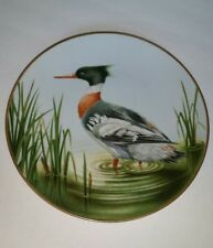 Waterbird Plate by Danbury Mint Red-breasted Merganser by Eric Tenney
