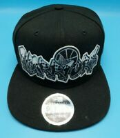 GOLDEN STATE WARRIORS black hat adjustable snapback cap New Era 9Fifty