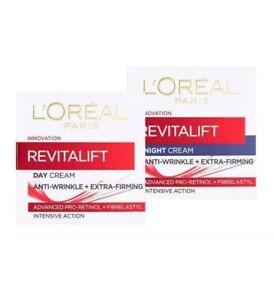 L'Oreal Paris Revitalift Anti-Wrinkle + Firming DAY or NIGHT Cream 50ml