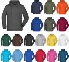 Türkisblaue kinder Sweatshirt mit Kapuze | Kostenloser