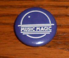 """Music Magic Button Pin Original Promo 1"""" (purple)"""