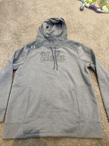 UCLA Bruins Under Armour Womens Hooded Sweatshirt, Sz XL