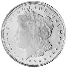 Morgan Dollar Design 1/10 Oz Silver By Highland Mint 999 Fine (M109)