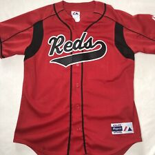 Vintage Majestic Cincinnati Reds 25 Pelaez Mens Medium Sewn Jersey Uniform