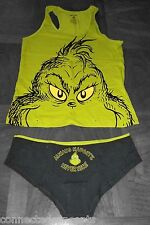 How the Grinch Stole Christmas Women's Camisole & Underwear Set (Small or Med)