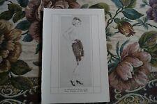 1921 Kunstdruck vh / Isa Marsen Max Pollack