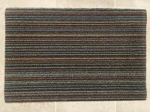 Chilewich Floor Mats - Stripe Mats - Multi Color 18'' x 28''