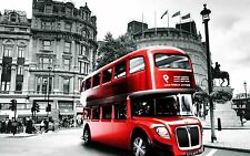 Large Poster London Black & White and Colour Quality wall Art Print 610x900mm