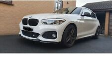 BMW 1 Series F20 Facelift FRONT LIP SPLITTER 2015 Upwards M-Power ABS PLASTIC