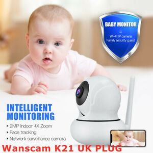 Wanscam K21 Wireless 1080P HD Webcam Indoor Camera Person Detection Night Vision