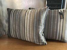 Pkt 2 Designer Cushions Romo Parada Silk
