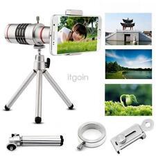 18X Optical Zoom Telescope Camera Lens Tripod+Back Case For iPhone6 7 plus AL