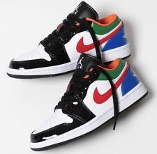 Nike Air Jordan 1 Low White/Black/Pine/Royal CZ4776 101 Men's Size 9.5M / 11W
