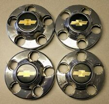 1988-1994 Chevy 1500 Set of 4 Center Caps Hubcaps USED 1613,1616 PN 46254-46249