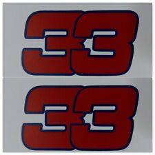 F1 red bull racing sticker MAX VERSTAPPEN 33 car sticker