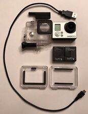 GoPro HERO3 White w/LCD Touch BacPac + More!