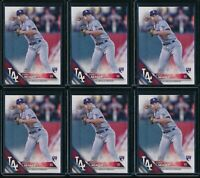 2016 Topps Factory Set Corey Seager RC 6 Card Lot #85 Rookie Fielding Variation