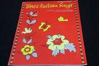 Three Russian Songs Piano Sheet Music Book Intermediate Irina Kirilenko