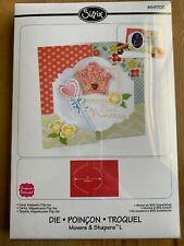 Sizzix Movers & Shapers Scrapbooking Card, Majestic Flip-its #658702 New