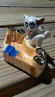 Vintage Lusterwear Kitty Cat Ashtray - Made in Japan