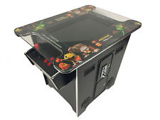 "60 Game Cocktail Table Top Arcade Machine 22"" Screen Free Shipping New 24mth War"