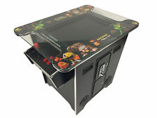 "60 Game Cocktail Arcade Machine 22"" Screen Free Shipping Brand New 24mth Warr"