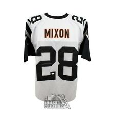 Joe Mixon Autographed Cincinnati Bengals Custom Color Rush Football Jersey - JSA