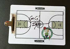 Boston Celtics BRAD STEVENS Signed Autographed Basketball Clip Board COA! GO C's